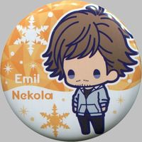 Trading Badge - Yuri!!! on Ice / Emil Nekola
