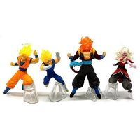 (Full Set) Trading Figure - Dragon Ball / Vegeta & Goku & Gogeta & Majin Boo