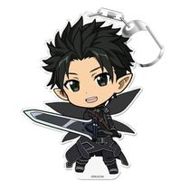 Acrylic stand - Puni Colle! - Sword Art Online / Kirito