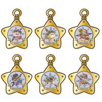 (Full Set) Acrylic Key Chain - Kirby's Dream Land / Meta Knight & King Dedede & Magolor & Waddle Dee