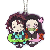 Rubber Strap - Demon Slayer / Tanjirou & Nezuko