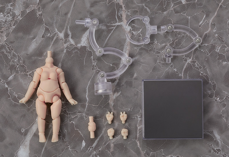 Nendoroid Doll - Figure Parts (ねんどろいどどーる archetype:Woman(cream))