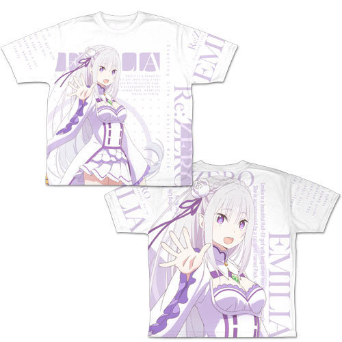 T-shirts - Re:ZERO / Emilia Size-M