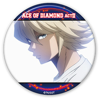 Trading Badge - Ace of Diamond / Okumura Koushuu