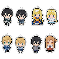 (Full Set) Strap - Sword Art Online / Asuna & Kirito & Eugeo & Alice