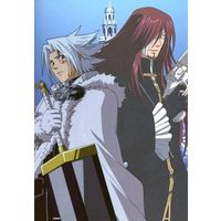 Character Card - D.Gray-man / Allen Walker & Cross Marian