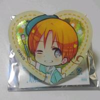Acrylic Badge - Heart Badge - Hetalia / Italy (Feliciano)