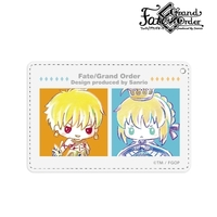 Commuter pass case - Ani-Art - Fate/Grand Order / Archer & Gilgamesh & Altria