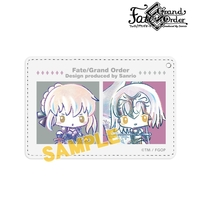 Commuter pass case - Ani-Art - Fate/Grand Order / Saber Alter & Jeanne d'Arc & Altria