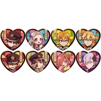Acrylic Badge - Heart Badge - Toilet-Bound Hanako-kun