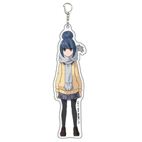Acrylic Key Chain - Yuru Camp / Shima Rin