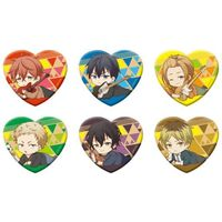 (Full Set) Acrylic Badge - Heart Badge - Given