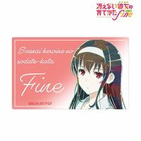 Card Stickers - Saekano / Kasumigaoka Utaha