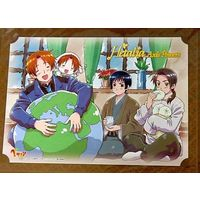 Portrait - Hetalia / Italy & Japan & China