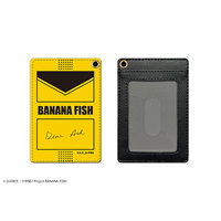 Commuter pass case - BANANA FISH / Ash Lynx & Okumura Eiji