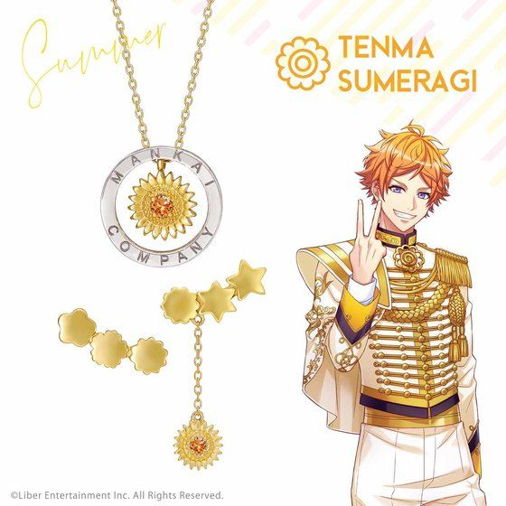 Earrings - A3! / Sumeragi Tenma & Spring Troupe & Summer Troupe