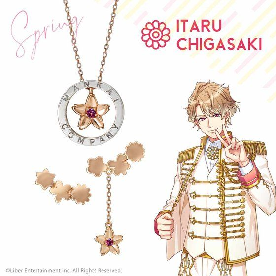 Earrings - A3! / Spring Troupe & Chigasaki Itaru