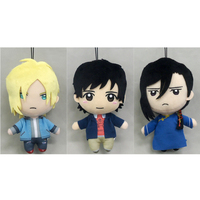 (Full Set) Plushie - BANANA FISH / Ash Lynx & Okumura Eiji & Yut-Lung Lee