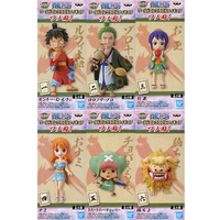 (Full Set) World Collectable Figure - ONE PIECE / Nami & Zoro & Luffy & Chopper