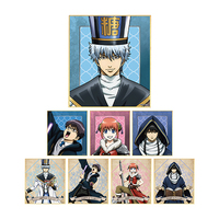 Illustration Panel - Gintama / Kagura & Gintoki & Shinpachi & Katsura