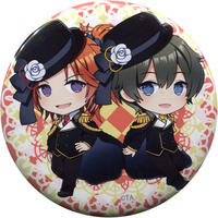 Trading Badge - Tsukiuta / Nagatsuki Yoru & Haduki You