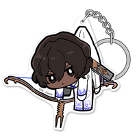 Tsumamare Key Chain - Fate/EXTELLA / Arjuna (Fate Series)