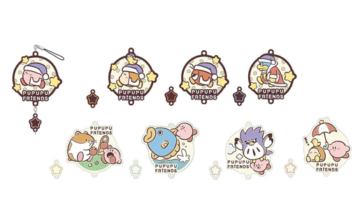 (Full Set) Rubber Strap - Kirby's Dream Land / King Dedede & Waddle Dee