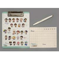 Ballpoint Pen - Clip Board - Stand My Heroes