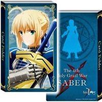 Card case - Fate/Zero / Saber