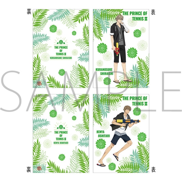 Plastic Folder - Prince Of Tennis / Shiraishi & Kenya