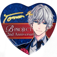 Heart Badge - B-Project: Kodou*Ambitious / Kitakado Tomohisa