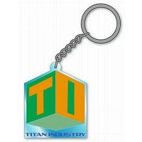 Rubber Key Chain - TIGER & BUNNY / Blue Rose