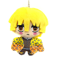 Plush Key Chain - Demon Slayer / Agatsuma Zenitsu