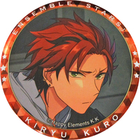 Trading Badge - Ensemble Stars! / Kiryu Kuro