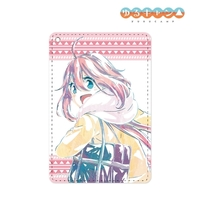 Commuter pass case - Ani-Art - Yuru Camp / Kagamihara Nadeshiko