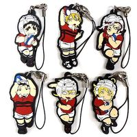 (Full Set) Rubber Strap - All Out!!