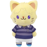 Plush Key Chain - withCAT - number24 / Ueoka Ibuki