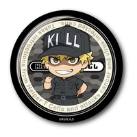 Badge - Hataraku Saibou (Cells at Work!) / Killer T Cell