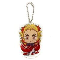 Acrylic Key Chain - Demon Slayer / Rengoku Kyoujurou