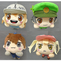 (Full Set) Nesoberi Plush - Hataraku Saibou (Cells at Work!) / Platelet & B Cell & Dendritic Cell & Eosinophil