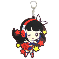 Rubber Key Chain - Love Live! Sunshine!! / Kurosawa Dia