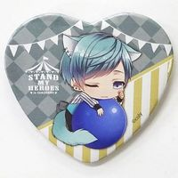 Heart Badge - Stand My Heroes / Hinata Shion