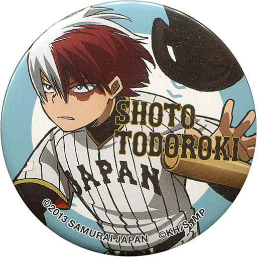 Trading Badge - My Hero Academia / Todoroki Shouto