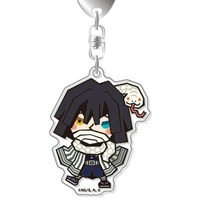 Acrylic Key Chain - Demon Slayer / Iguro Obanai