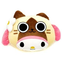 Face Cushion - MONSTER HUNTER / Felyne (AIROU)