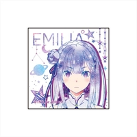 Square Badge - Re:ZERO / Emilia