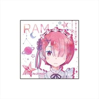 Square Badge - Re:ZERO / Ram