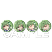 Badge - Touhou Project / Sanae & Sakuya