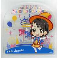 Badge - IM@S: Cinderella Girls / Chie & Producer