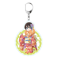 Acrylic Key Chain - Yuru Camp / Saitou Ena